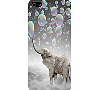 The Elephant Pattern Phone Back Case Cover for iPhone5C