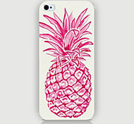 Pink Pineapple Pattern Phone Back Case Cover for iPhone5C