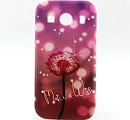 Dandelion Pattern TPU Phone Case for Galaxy Core 2 G355 GALAXY CORE Prime G360 Galaxy Ace 4 G357 Galaxy Alpha G850
