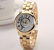 2015 New Alloy Steel Quartz Watches Men Gold Watch Brand Analog Watches Top Quality
