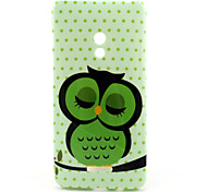 Sleeping Owl  Pattern TPU Soft Case for Asus Zenfone 5