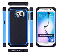 Football Hybrid Case 3in1 PC Silicone Case Cover For Samsung S6/S6 Edge Phone Case(Aorted Color)