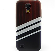 motivo a strisce materiale TPU soft phone per mini i9190 Samsung Galaxy S4