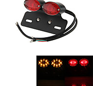 ATV Turn Signal Brake License Plate Integrated Light Lamp Motorcycle 34 LED  (1 Pc)