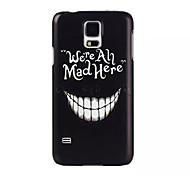 Tooth Pattern PC Painted Hard Case For S4 Mini/S5