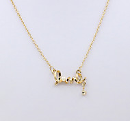 Women's Choker Necklaces Pearl Strands Crystal Pearl Rhinestone Simulated Diamond 18K gold Fashion Gold Silver Jewelry