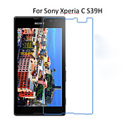 5PCS HD Clear Transparent Screen Protector Film For Sony Xperia C S39H