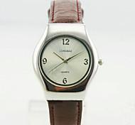 Women's Analog Alloy Case Round Dial Pu Band Quartz Watch Women Business Watch Gift Watch Ladies Watch