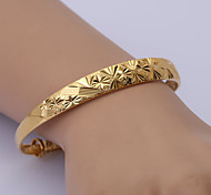 China Gold Series Bracelet 2 (Adjustable Size)  Cuff Bracelets Wedding/Party/Daily/Casual 1pc
