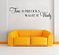 adesivos de parede adesivos de parede de tempo estilo inglês palavras&cita parede adesivos pvc