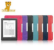 caso tímida cubierta de cuero oso ™ para el nuevo lector de libros electrónicos Kobo 2015 hd glo