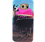 Alpaca Pattern TPU Material Phone Case for Samsung Galaxy S3 S4 S5 S6 S3Mini S4Mini S5Mini S6 edge