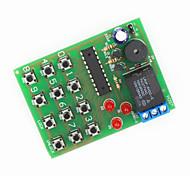módulo de bloqueo de contraseña electrónico - verde + negro