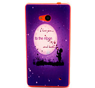 Moonlight  Pattern TPU Phone Case for Nokia Microsoft Lumia 640