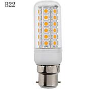 E14/G9/B22 8 W 48 SMD 5050 650 LM Warm wit Maïslampen AC 220-240 V