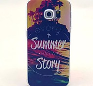 Summer Pattern PC Material Phone Case for Galaxy S6 / Galaxy S6 edge / Galaxy S3 / Galaxy S5Mini