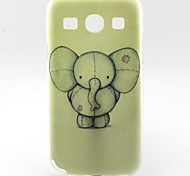 Para Funda Samsung Galaxy Diseños Funda Cubierta Trasera Funda Elefante TPU Samsung Trend 3