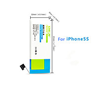 DE JI 1430mAh Replacement Battery for IPhone 5s