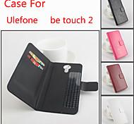 Schlagleder magnetische Schutzhülle für ulefone Touch 2 (verschiedene Farben) sein