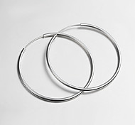 2015 New Products Italy Style Silver Plated Africa Design Hoop Earrings Fine Statement Jewelry for Women