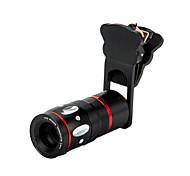 Universal 4 in 1 Clamp + 0.67X Wide+Macro + 180°Fish Eye Lens + 10X Mobile Telephone Lens