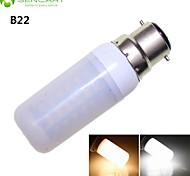 / 10w b22 48x5630smd llevado caliente / 1800LM blanco fresco blanco bulbos gu10 / G9 / E27 / E14 decorativa liderados maíz AC110-240V