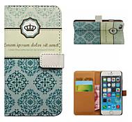 Kaiserkrone Brieftasche Handyfall für iphone 5/5 s
