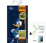 Disney Donald Duck Cover Case Free with Headfore Screen Protector for Iphone6S Plus/6 Plus 5.5""