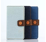 Stents Holster Denim Casual Pu Denim Mobilephone Protection Shell Card Holder for Sony A4