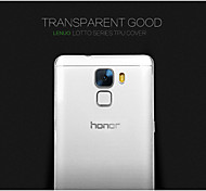 147 Huawei Case Case Cover Back Cover Transparent Back Cover Case Solid Color Special Design Soft TPU for Huawei Huawei Honor 7
