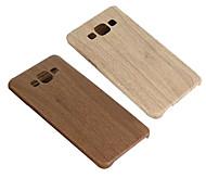 diseño especial de madera del grano de la PU&PC de la contraportada para la galaxia a5 (color clasificado)