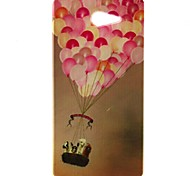 Balloon Pattern TPU Material  Phone Case for Sony Xperia M2