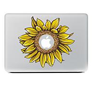 girasol adhesivo decorativo para macbook air / pro / pro con pantalla de retina