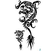 Séries Animal - YEEECH - Tatuagem Adesiva - Non Toxic/Tamanho Grande/Waterproof - para
