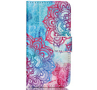 Lotus PU Leather Full Body Case with Screen Protector And Stand for iPod Touch 5