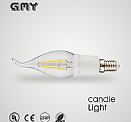 1 pcs GMY E12 3 W 8 COB ≥350 LM Warm White/Cool White B Decorative Candle Bulbs AC 110-130 V