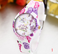 personalized fashionDigital silicone quartz watch fashion ladies watch