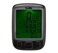 Bicicleta Computadores ( DE Plástico , Preta/Azul/Amarelo ) -AV - Velocidade Média/Max - Velocidade Máxima/Hodômetro/Tempo - Tempo