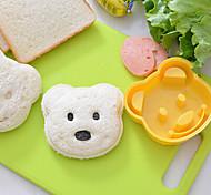 Мишка в форме сэндвич резак DIY пластиковые сэндвич резки формы