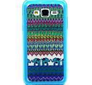 Stammes- Elefant-Muster-TPU Acryl weiche Tasche für Samsung Galaxy J1 / galaxy j5 / galaxy j7