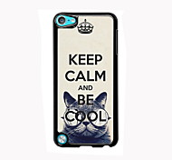 Keep Calm and Be Cool Design Aluminum High Quality Case for iPod Touch 5