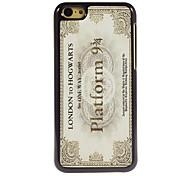 La conception vintage d'aluminium d'affranchissement cas de haute qualité pour iPhone 5c