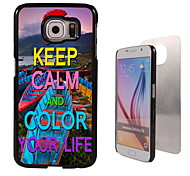Colorful Your Life Design Aluminum High Quality Case for Samsung Galaxy S6 Edge G925F