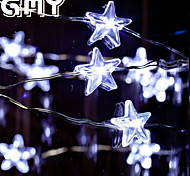 GMY Christmas Light Star Copper Wire String light