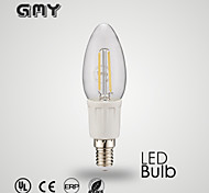 1 pcs GMY E12 3 W 8 COB ≥350 LM Warm White/Cool White B35 Filament candle bulb AC 110-130 V