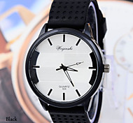 Men's Watches Silicone Quartz Watch