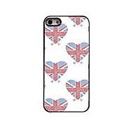 Union Jack Design  Aluminum High Quality Case for iPhone 5/5S