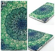 Peacock Petals Pattern Soft TUP Case for iPad mini 3, iPad mini 2, iPad mini
