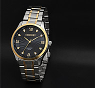 Aidu New Man's High Quality Steel Belt Quartz  Waterproof Watch Cool Watch Unique Watch