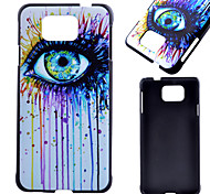 Eye Pattern PC Material Phone Case for Samsung Galaxy J1 /G360/ G388F/ G850F / G357